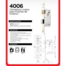Cerradura Kallay 4006