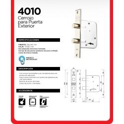 Cerradura Kallay 4010