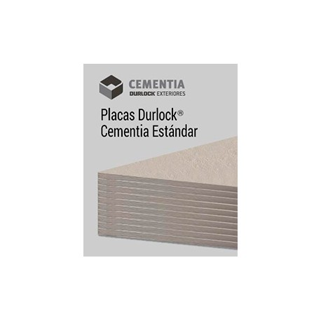 Placa Durlock Cementia Standart 8mm 1.20x2.40
