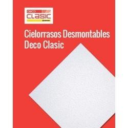 Cielo Raso Desmontable Decoclasic Texturada 0.606x0.606 Durlock