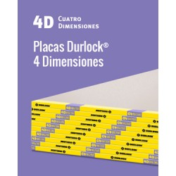 Placa Durlock 4d 15mm 1.20x2.40