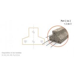 Vigueta Serie 4   4.00 A 4.60 5.00 A 5.20  C/20cm