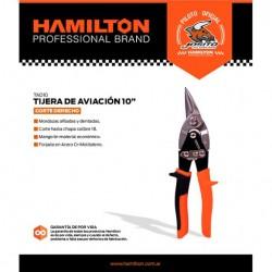 Tijera Aviacion Derecha 10  Hamilton