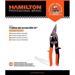 Tijera Aviacion Izquierda 10  Hamilton