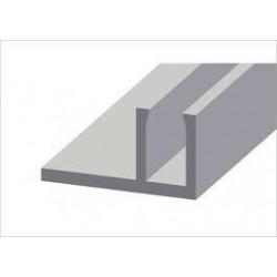 Aluminio Contravidrio F 1500 6mts