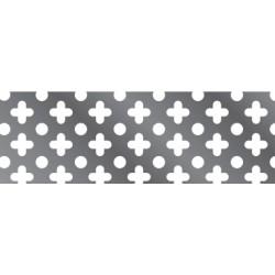 Chapa Perforada Punto-trebol 20 (1x2)