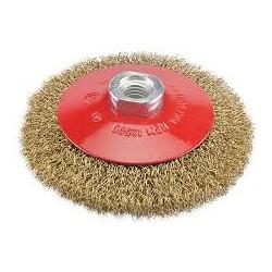 Cepillo Conico 96mm Rizado-