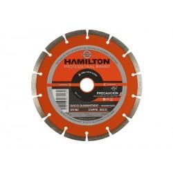 Disco Hamilton Diamantado Segmentado 115