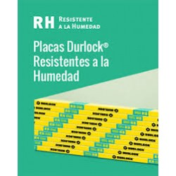 Placa Durlock Rh 12.5mm 1.20x2.40