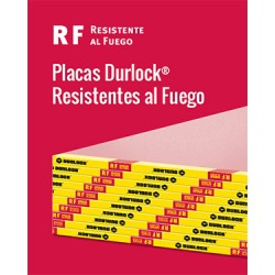 Placa Durlock Rf 12.5mm 1.20x2.40