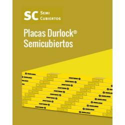 Placa Semi Cubiertos 1.20m X 2.40 Durlock
