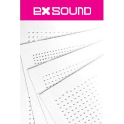 Placa Durlock Exsound Circular Perf. Comp. 12.5mm 1998 X 1188