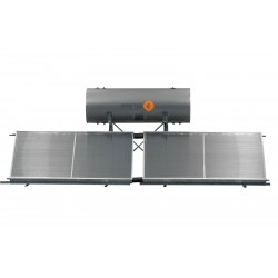 Termotanque Solar 260lts. Ap  Resistencia Perfil Alto