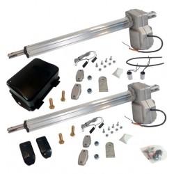Kit Completo Motor Batiente Condominium Inox