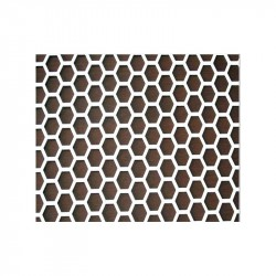 Chapa Deco Hexagonal 18 1x2