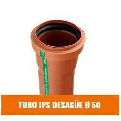 Tubo Ips  Desague 50  X 4000