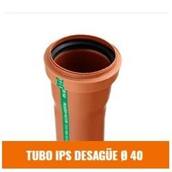 Tubo Ips  Desague 40  X 4000