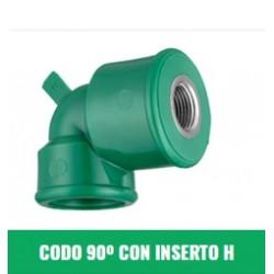 Fcuih Codo 90 Ins H 25x1/2 F-r