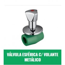 Valvula Esferica C/volante Metalico 32mm