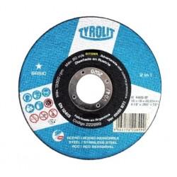 Disco Tyrolit 114x10 Basic