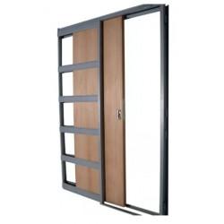 Puerta Corrediza Embutir Durlock Mdf 60 X 2.00