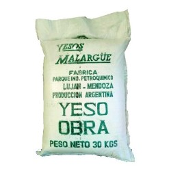 Yeso Tradicional Obra 30kg - Malargüe