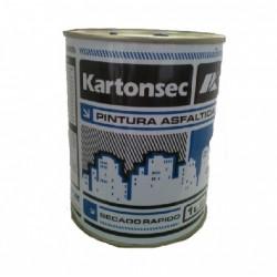 Pint Asfaltica 1lts (solventada) - Kartonsec
