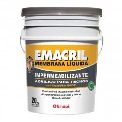 Emacril Tradicional 20 Kg Blanco - Comun - Emapi